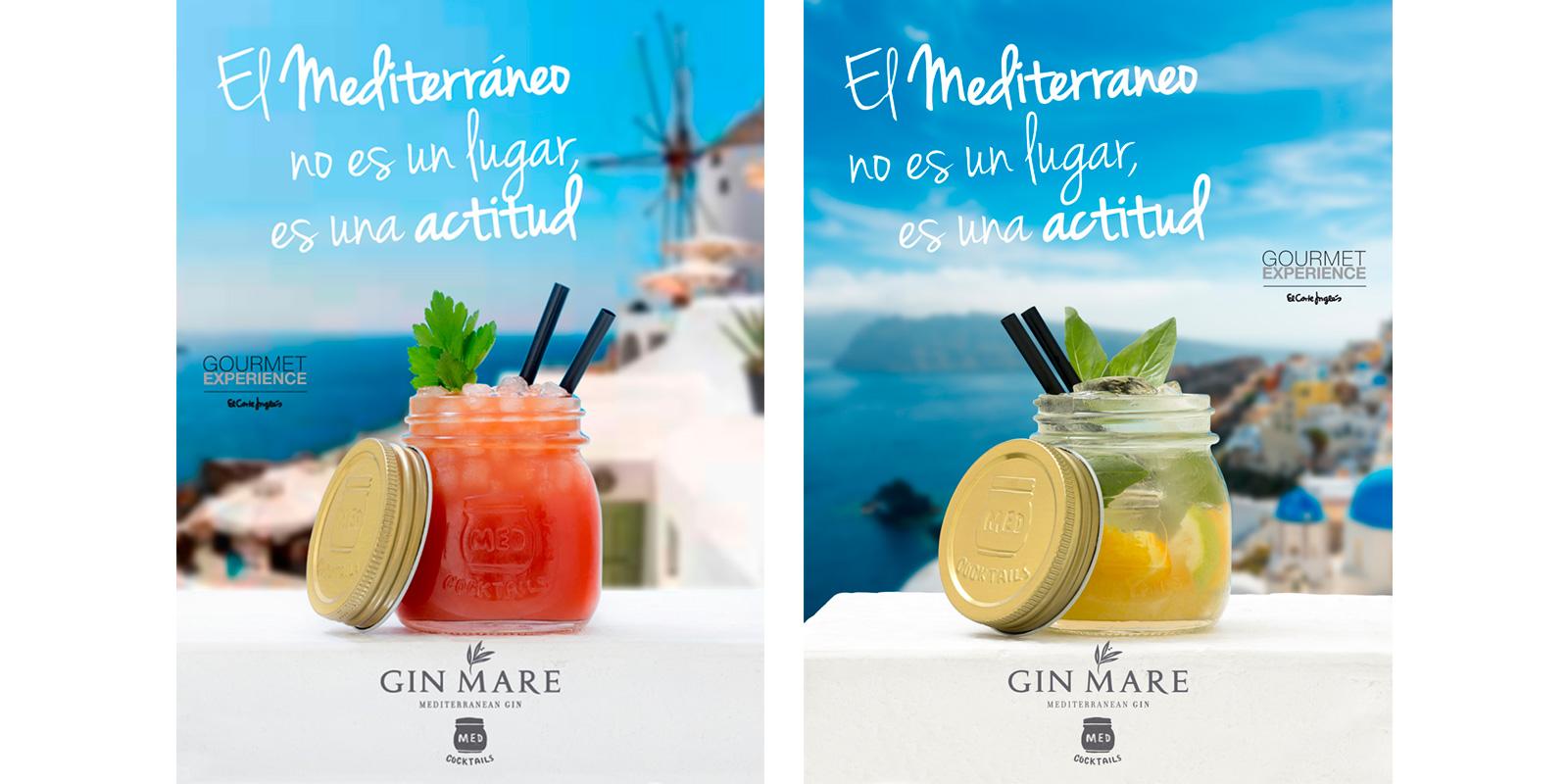 Diseño rotulación Gin Mare