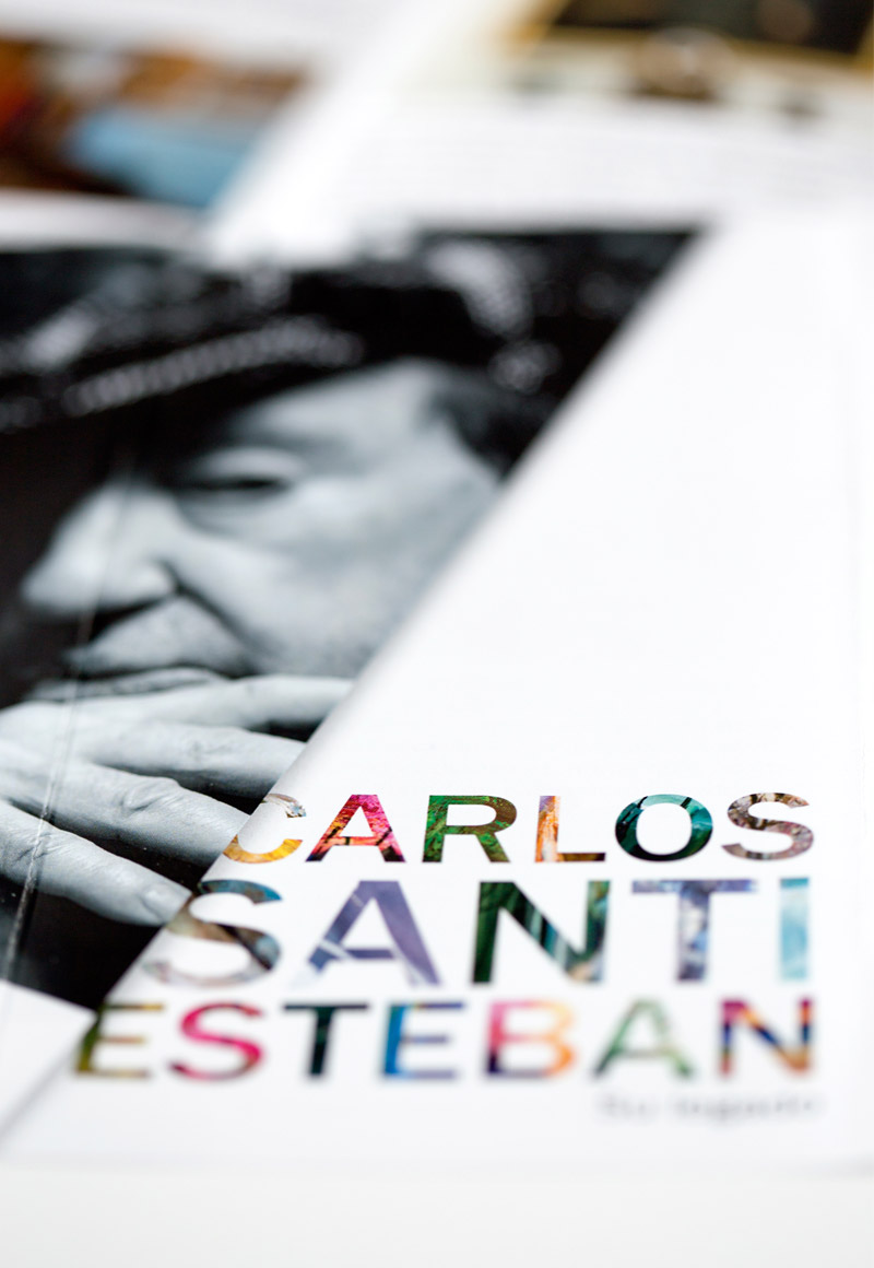 Folleto exposición Carlos Santiesteban