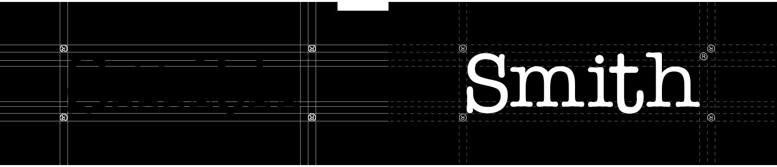 Logotipo positivo y negativo Smith
