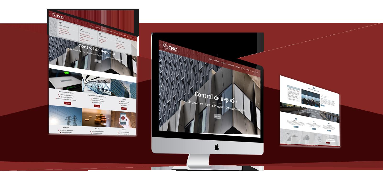 Diseño web CMC