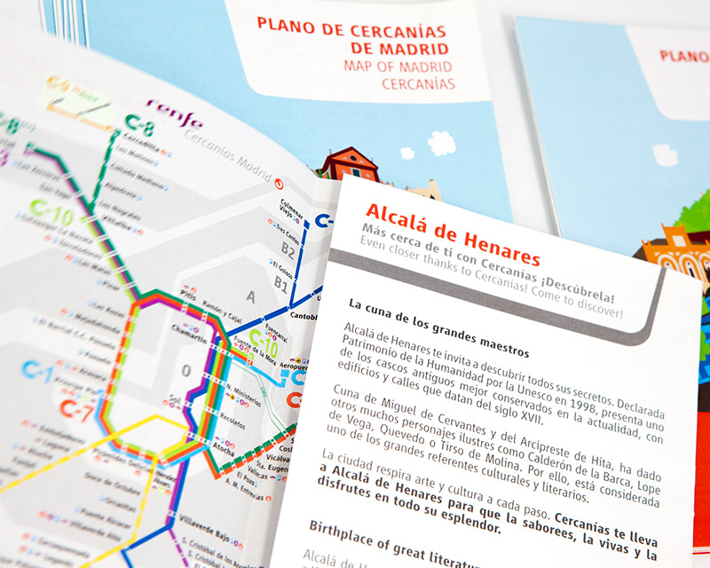 Guías Cercanías Renfe Madrid