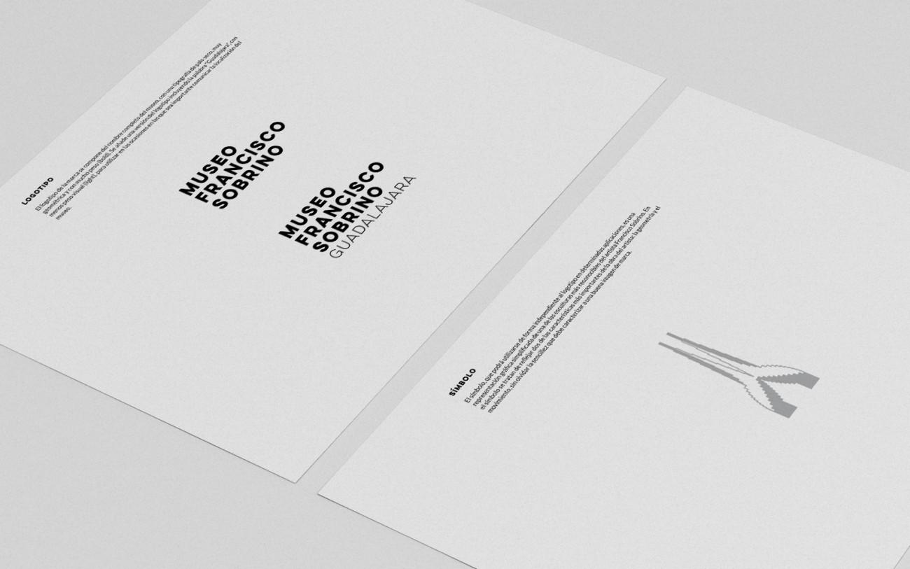 Manual de identidad corporativa Museo Francisco Sobrino