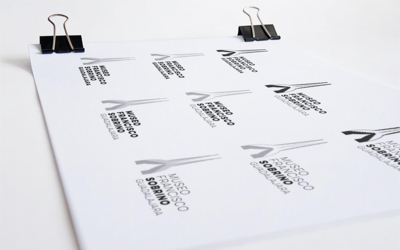 Pruebas logotipo Museo Francisco Sobrino