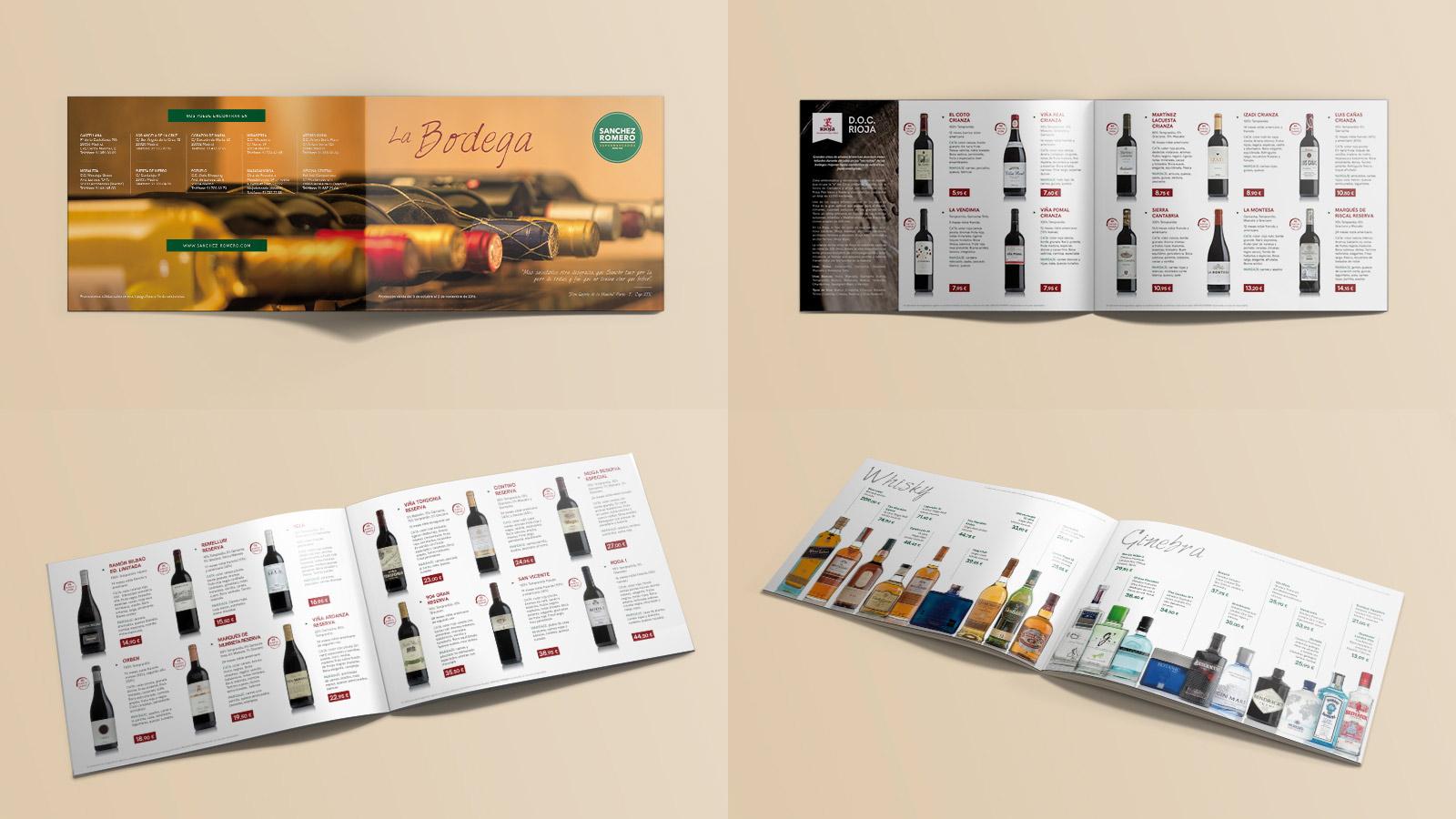 Catálogo Bodega SANCHEZ ROMERO