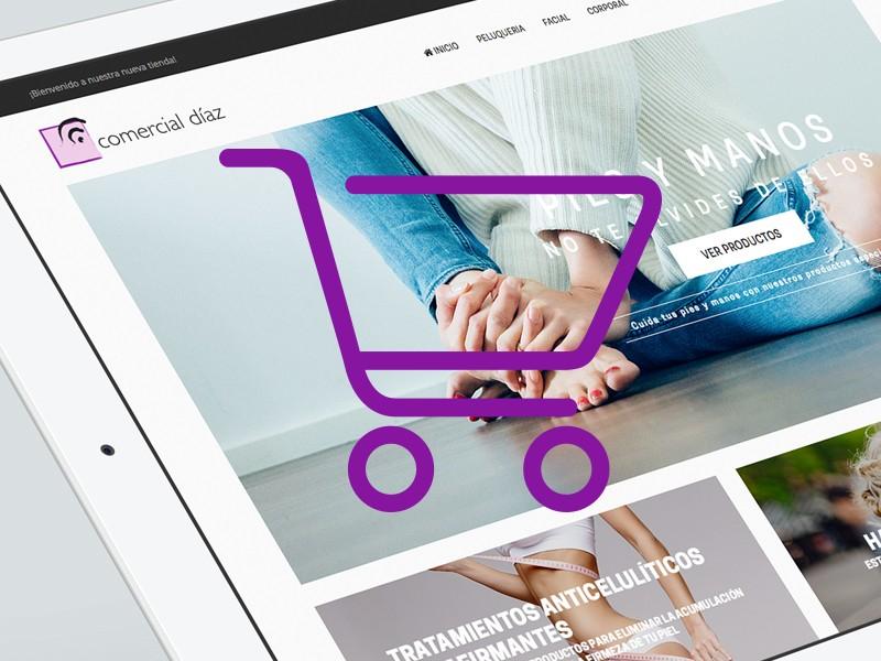 Tienda online Comercial Díaz